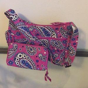 Vera Bradley bag and wallet